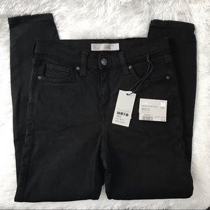 Topshop Black JAMIE Jeans Petite
